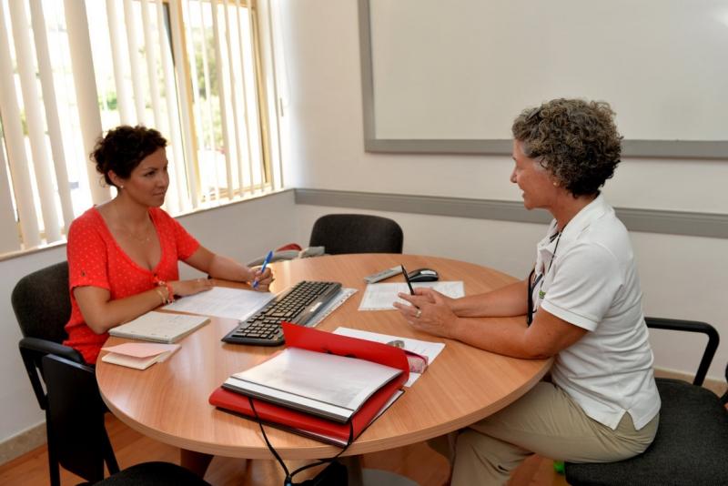 マルタ留学人気校GV Maltaのプライベートレッスンの様子