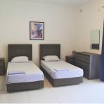 マルタ留学-English Language Academyの学校アパートメント-ベッドルーム例