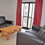 マルタ留学-English Language Academyの学校アパートメント-リビングルーム例