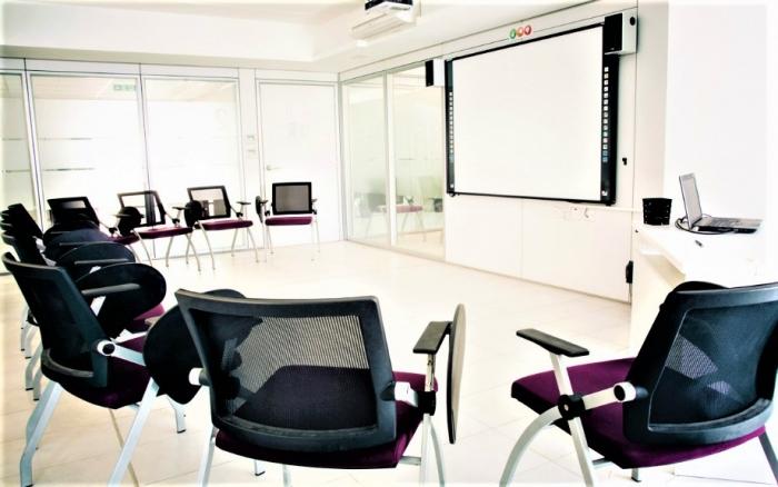 ACE English Malta校の教室