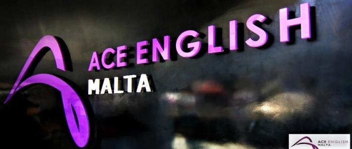 ACE English Malta校のロゴ