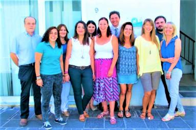 マルタの人気語学学校English Language Academyの教師及び学校スタッフ