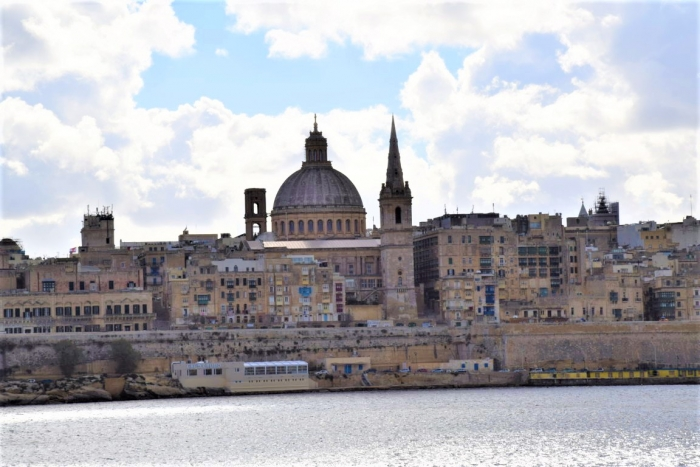 マルタの世界遺産Vallettaの街並み