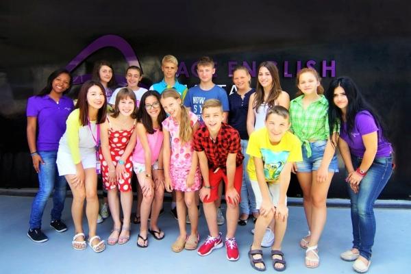 ACE English Malta校のKids Programme参加者たち