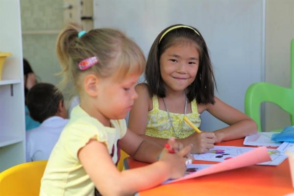 GV Malta校Kids Programme4~9歳の様子