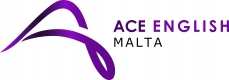 ACE English Maltaのロゴ