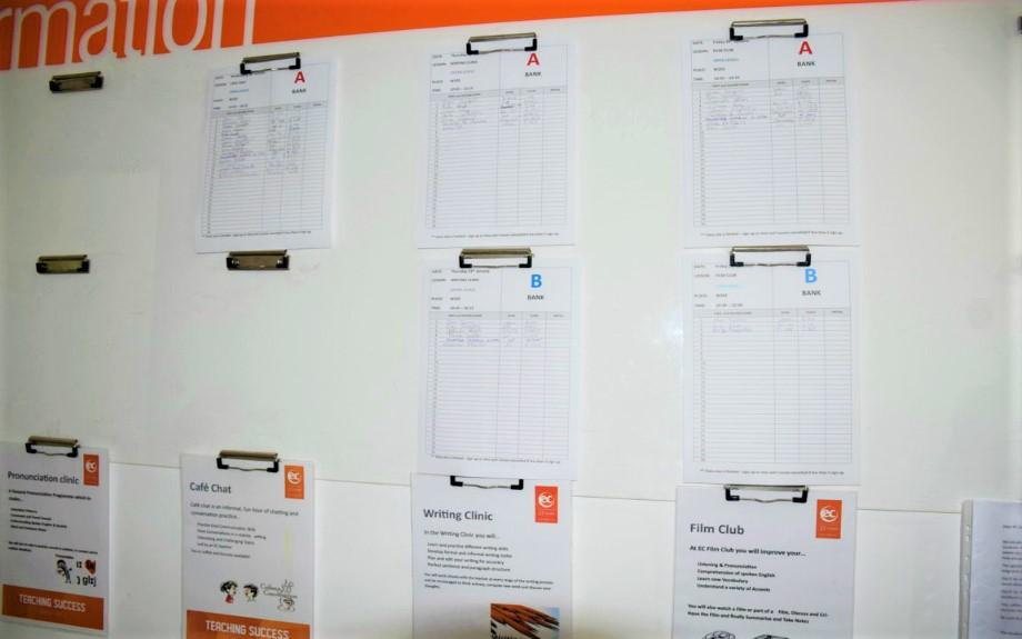 マルタの人気大規模語学学校EC Maltaのフリーレッスン情報掲示板