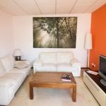 EC Malta校アパートメント-リビングルーム例