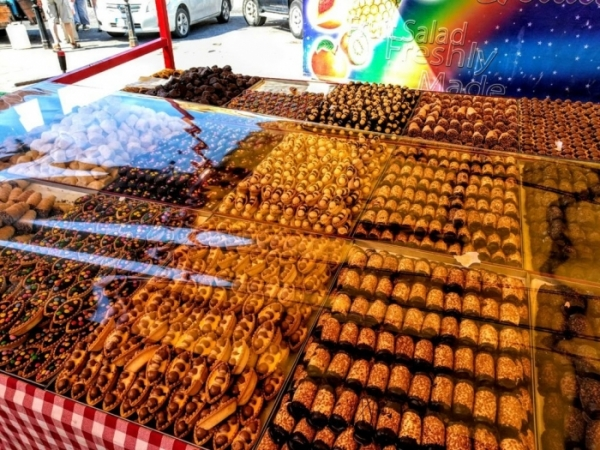 Marsaxlokk Marketのスウィーツ屋さん2