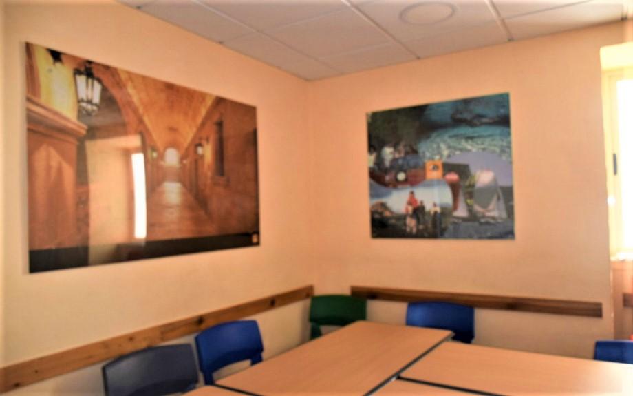 マルタの人気語学学校AM Language Studioの教室