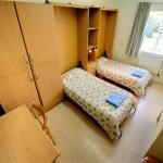 Malta University Language School-Post Graduate Apartmentベッドルーム例
