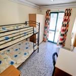 Malta University Language School-Town House Apartmentベッドルーム例