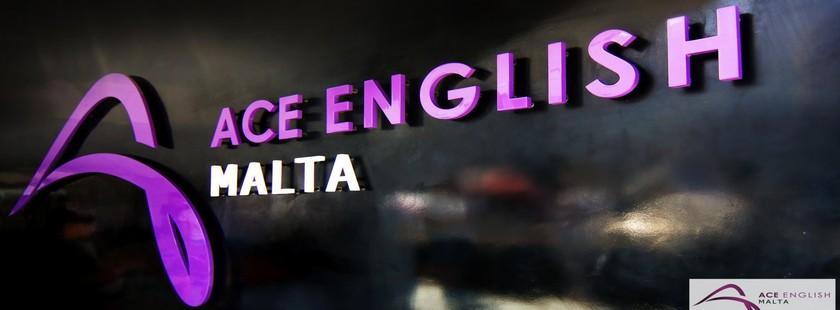 マルタ留学人気校ACE English Maltaのロゴ
