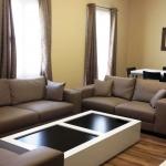 マルタ留学-AM Language Studio-スイートシェアアパートメントリビング例