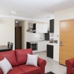 マルタ留学-IELS-Tigne Apartmentリビングルーム例