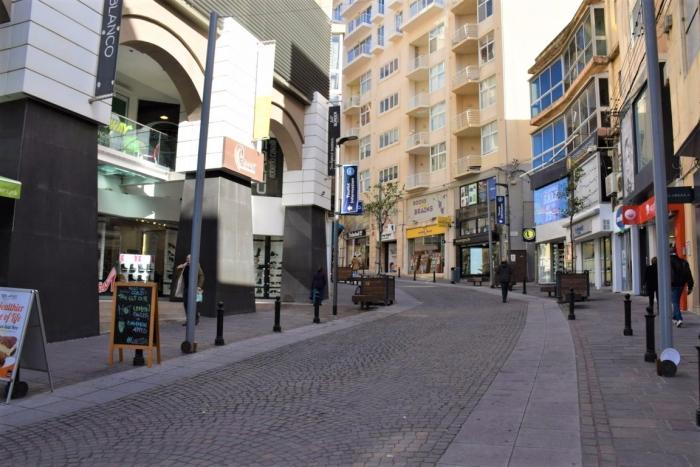 Sliemaの通りの様子