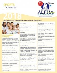 Alpha School of Englishのアクティビティ例2