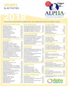 Alpha School of Englishのアクティビティ例3