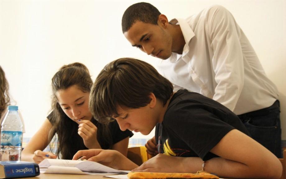 マルタ北東部の人気語学学校Alpha School of EnglishのJunior English20コースのクラス風景2