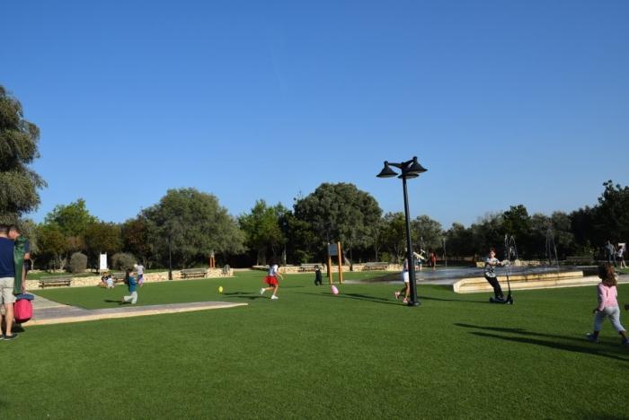 マルタのKenedy Grove公園10月の様子