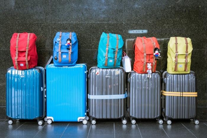 マルタ留学生たちの荷物