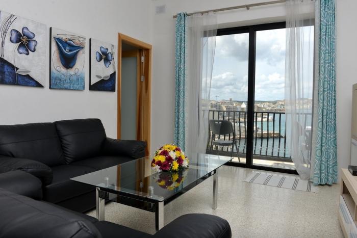 マルタ親子留学人気校GV Malta校のアパートメント