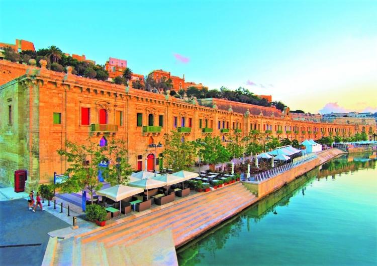マルタ留学人気散策スポットのフロリアーナ
