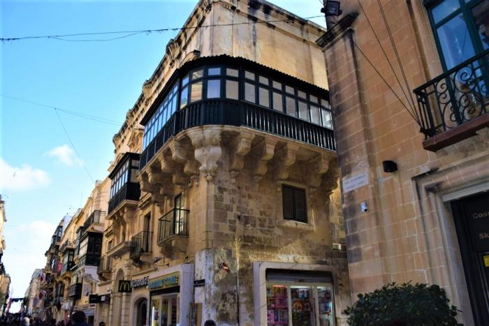 マルタの首都Vallettaにあるマクドナルド
