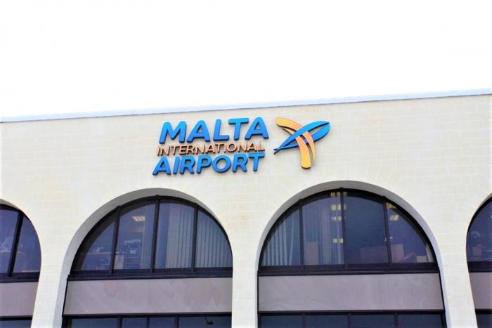 マルタ留学の始まりの地であるMalta International Airport