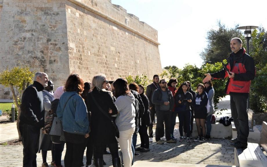 マルタ大学付属語学学校Malta University Language Schoolのアクティビティの様子