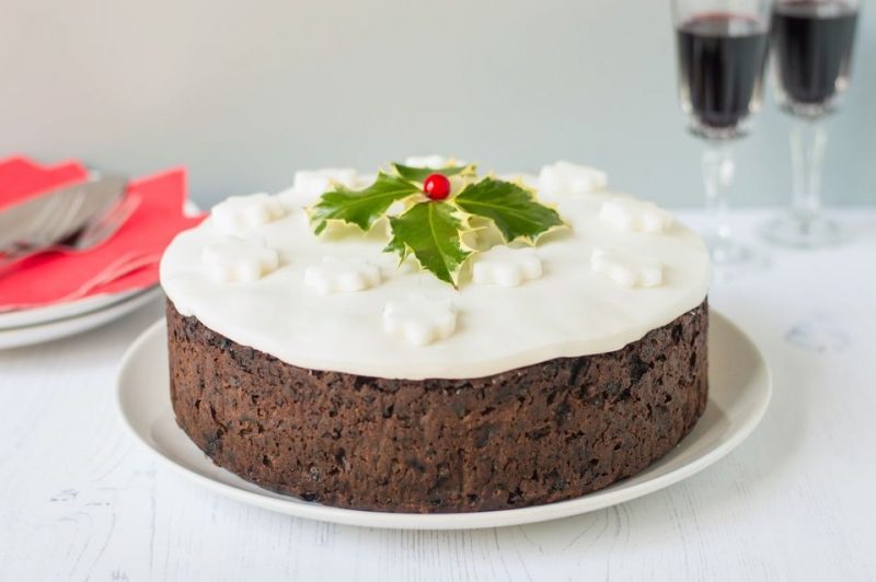 イングランドのクリスマスケーキChristmas Pudding