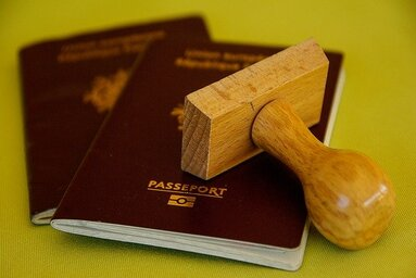マルタ留学の学生ビザ申請用パスポートイメージ