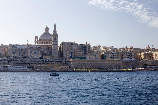 マルタ留学人気エリア首都Valletta