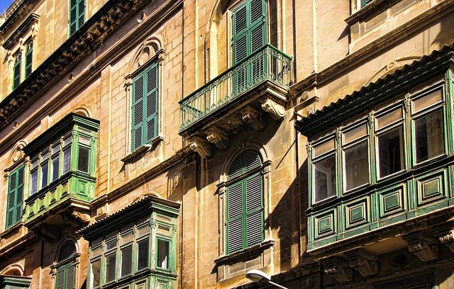 マルタ留学-Vallettaの街並み