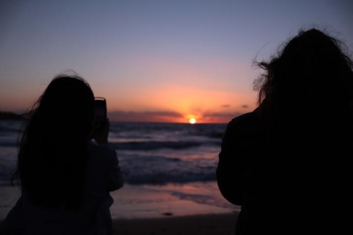 マルタ留学中に撮影した夕日