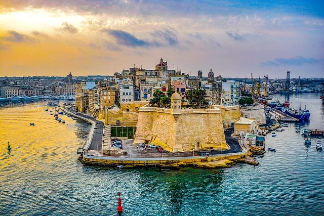 マルタの夕日