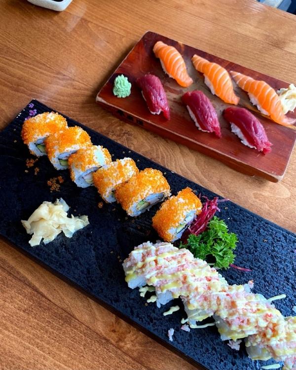 マルタで食べるお寿司