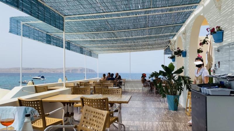 マルタのコーラルラグーン近くのレストラン