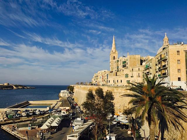 マルタの首都Valletta